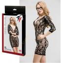 Платье-сетка Femme Fatale